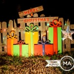Christmas Yard Art From Recycled Wood