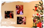 Christmas Wall Art With Mounted Photos