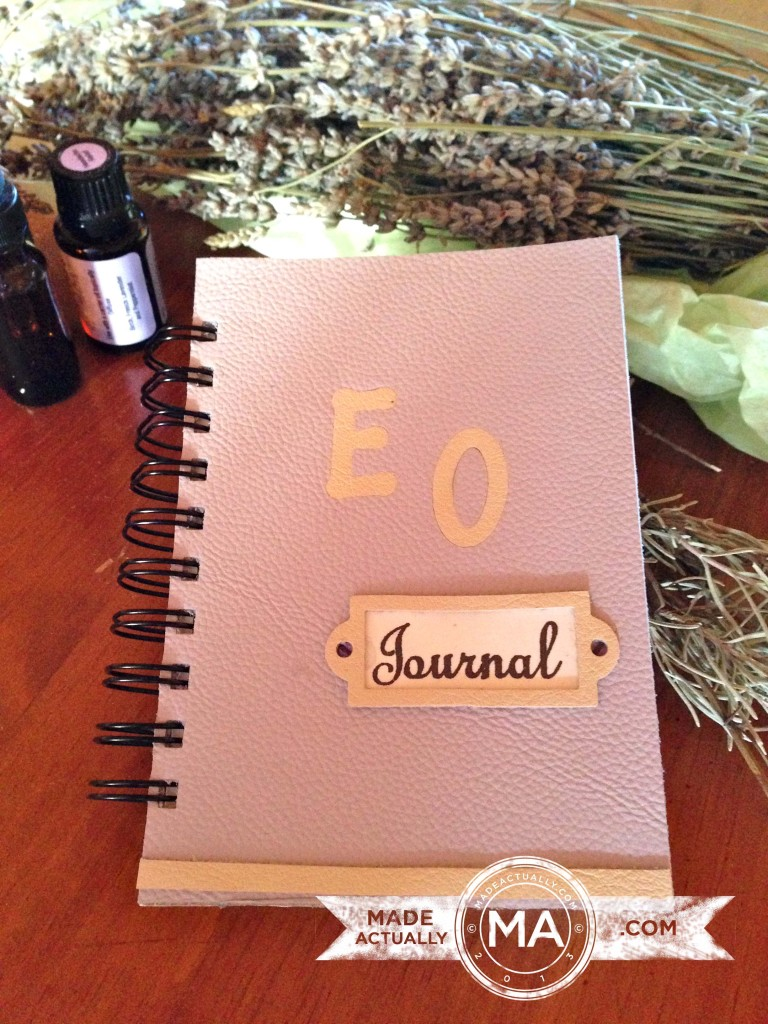Handmade Essential Oil Journal