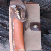 Leather Fauxdori Leather Journal With Pen Vest