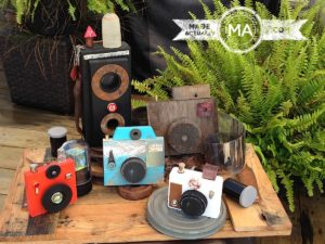Upcycled Wooden Cameras