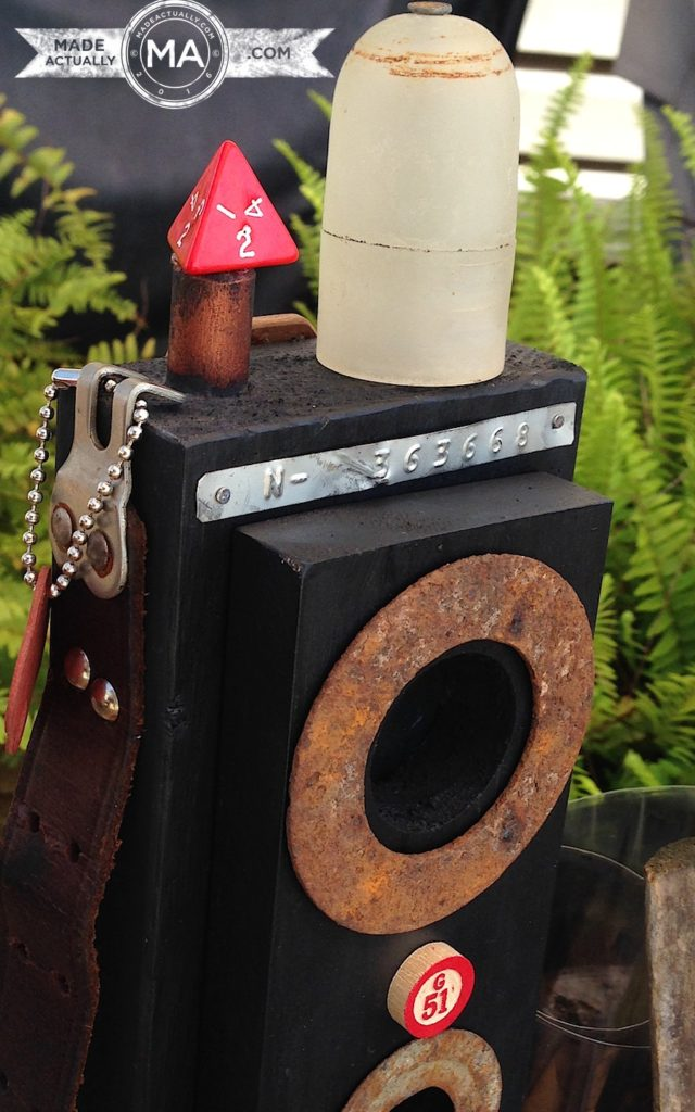 Upcycled Wooden Camera